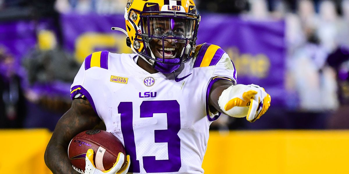 LSU senior WR Jontre Kirklin returning for another season