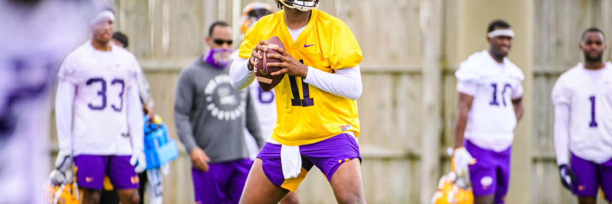 LSU QB TJ Finley enters his name in the NCAA transfer portal