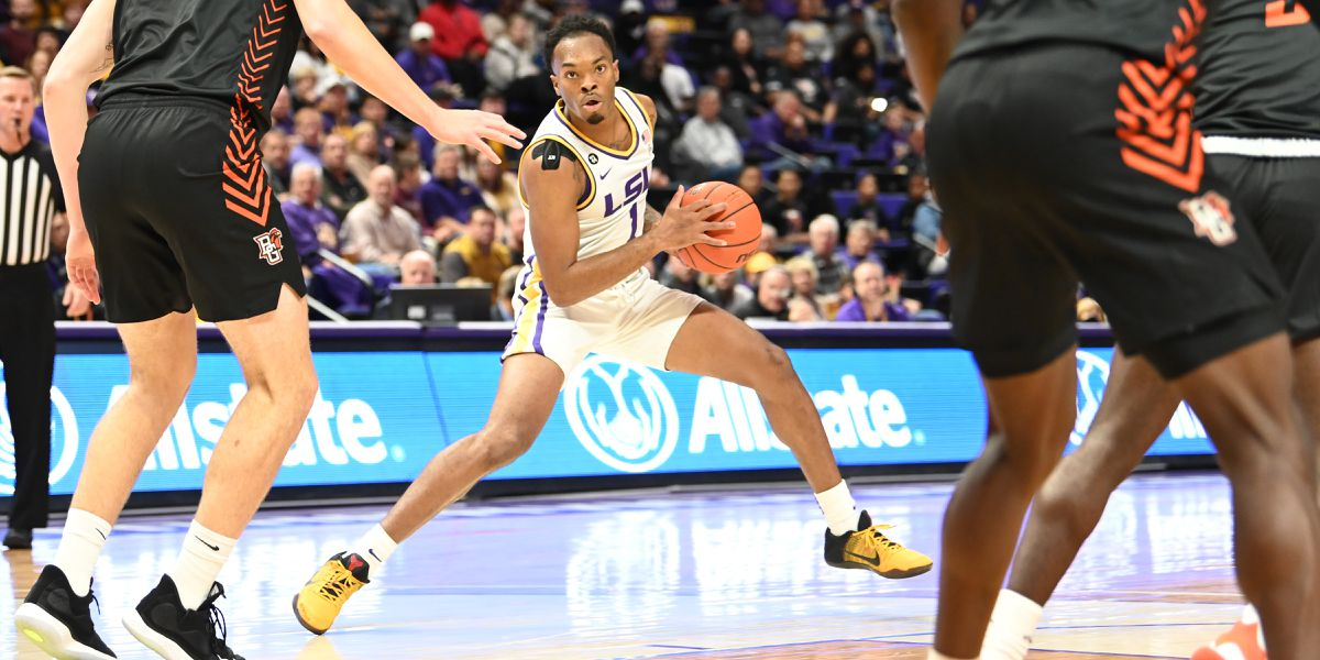 No. 22 LSU opens season with 88-79 win over Bowling Green