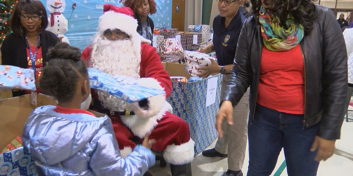 BRPD donates toys to students at Geo Prep Academy