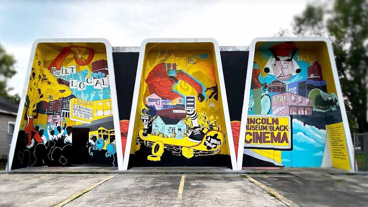 Mural splashes light on historic neighborhood seeking renaissance