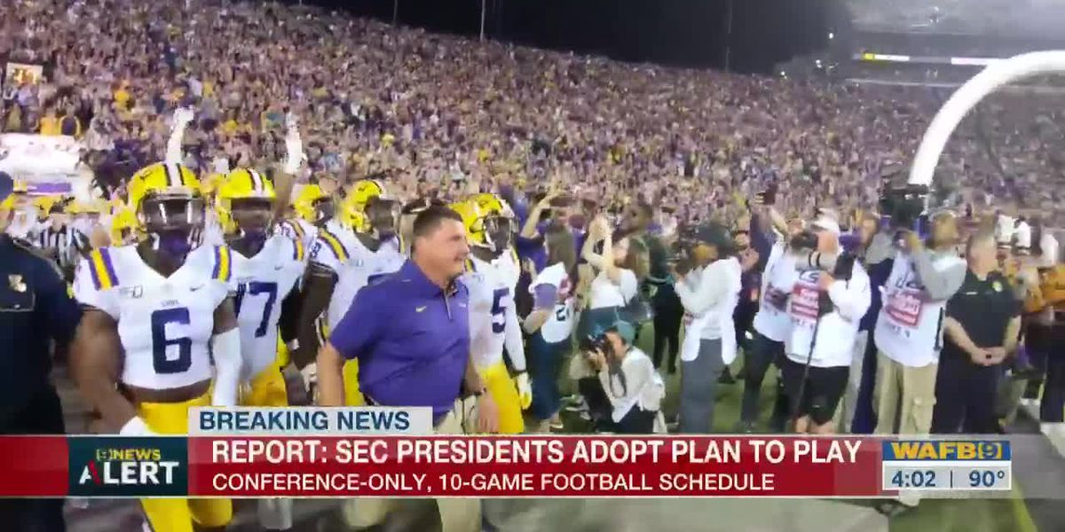 SEC to move to conference only, 10 game schedule