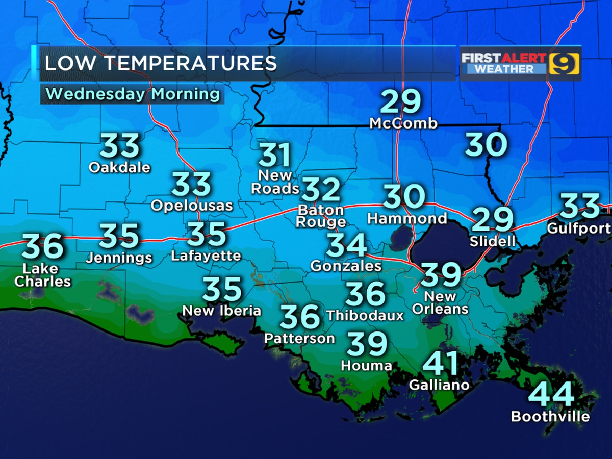 FIRST ALERT FORECAST: Another cold night on the way
