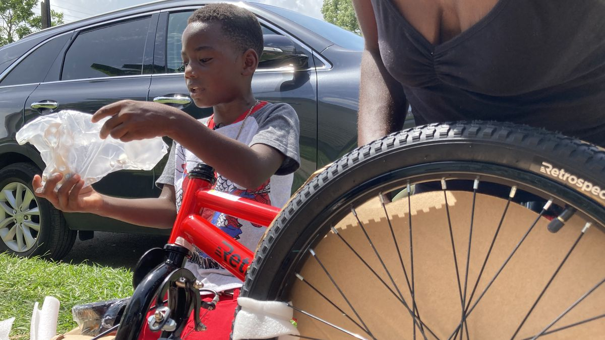 Hoping to give kids a better memory of 2020, Front Yard Bikes gives 100+ kids brand new bikes