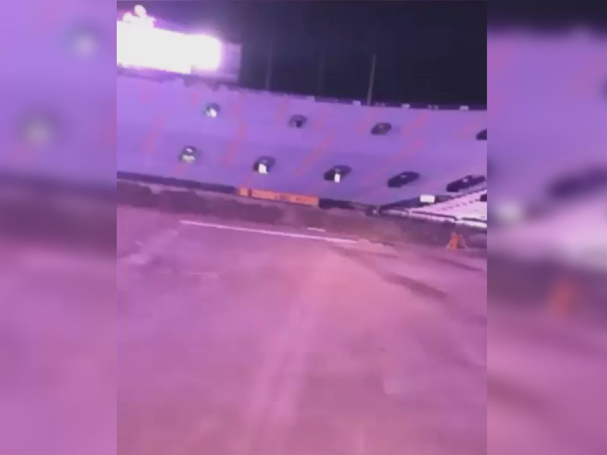 Three LSU students arrested in connection with viral video of joyride in Tiger Stadium