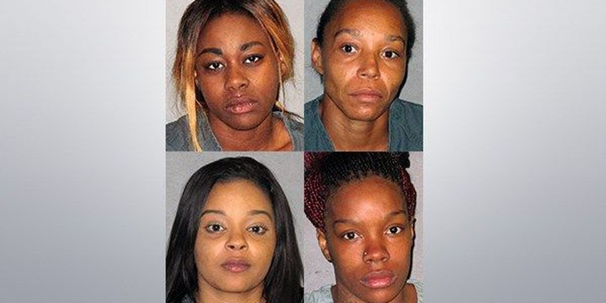 Four women arrested as part of Baton Rouge prostitution sting