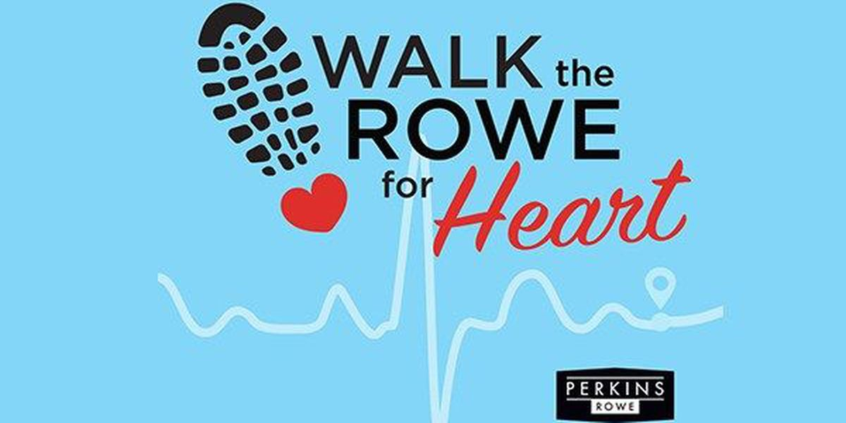 2nd Annual Walk the Rowe for Heart happening this weekend