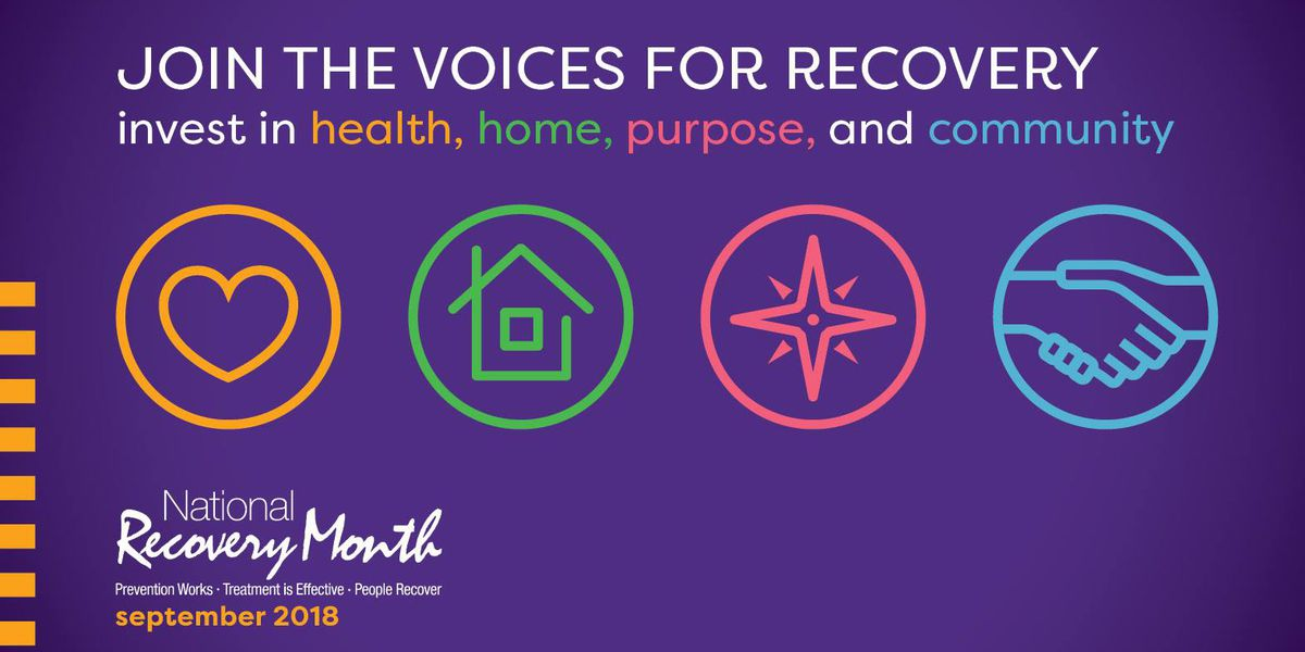 A celebration of those living life in recovery