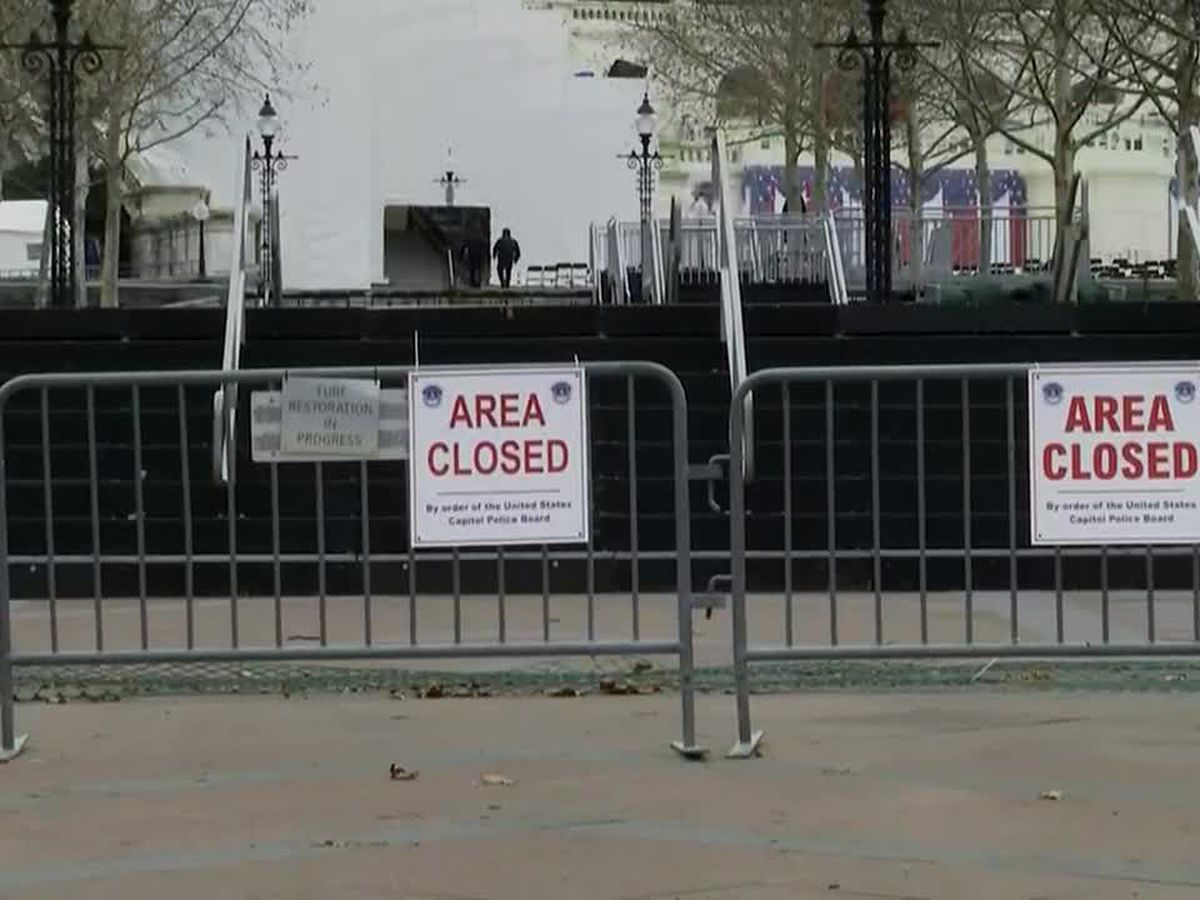 Inauguration week brings heightened security to Washington