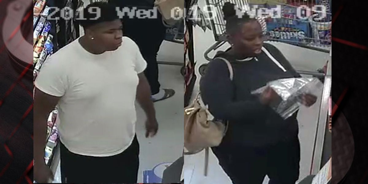Couple wanted for allegedly stealing $800+ worth of groceries from Rouses in Gonzales