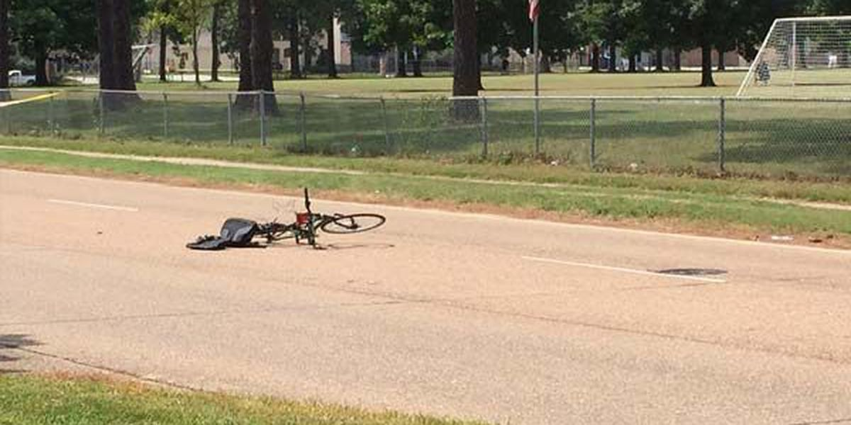 Cyclist dies after being hit by vehicle on Goodwood Blvd.