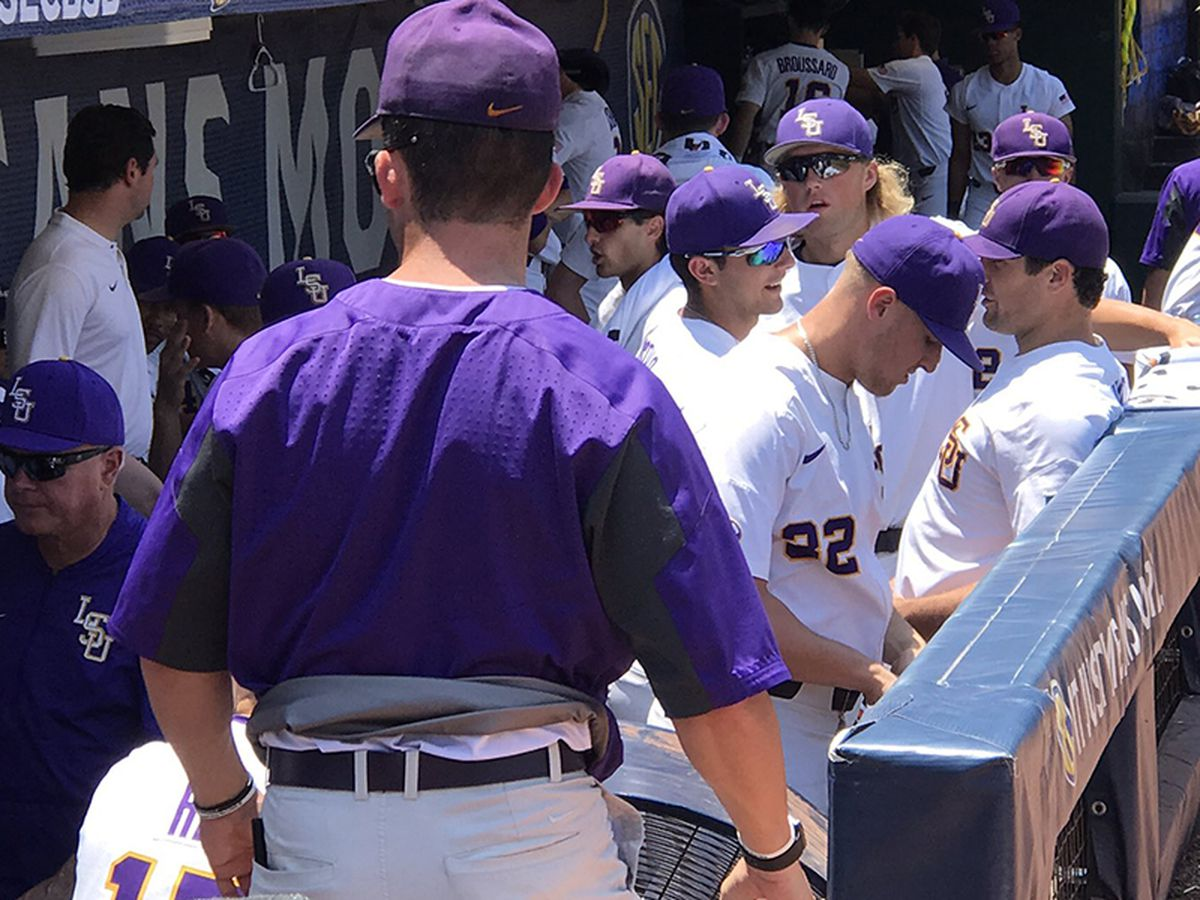 LSU baseball remains alive in SEC Tournament with wild win over Auburn