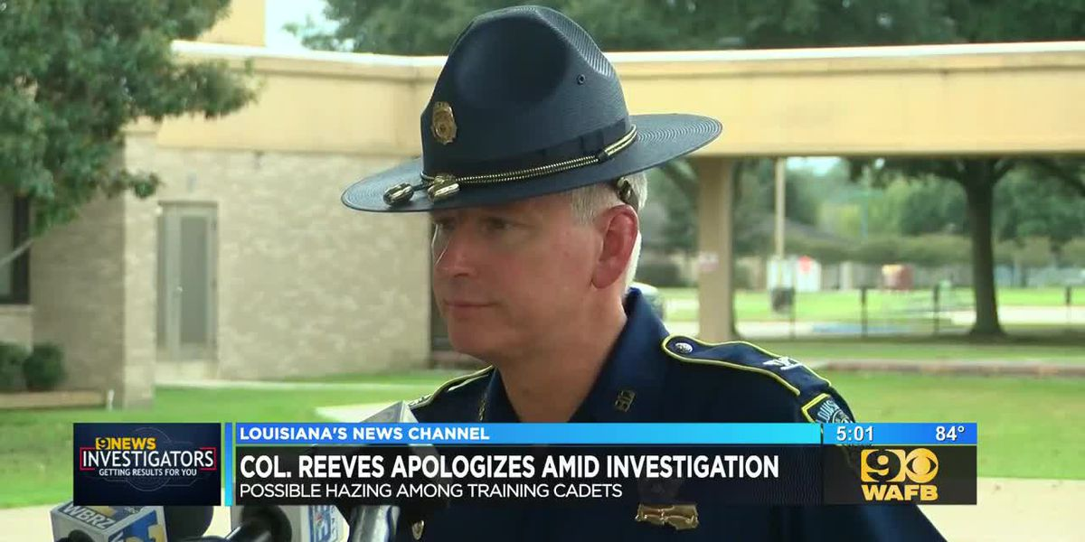 LSP Superintendent apologizes to families of injured cadets