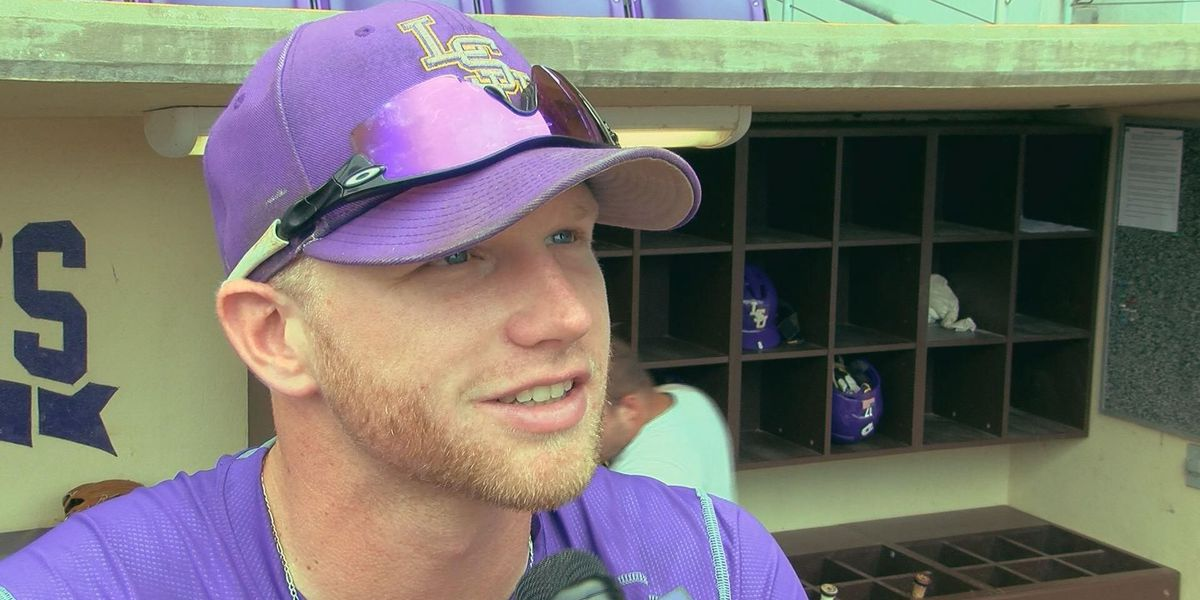 LSU's Jake Fraley finally picked by Tampa Bay Rays in MLB Draft