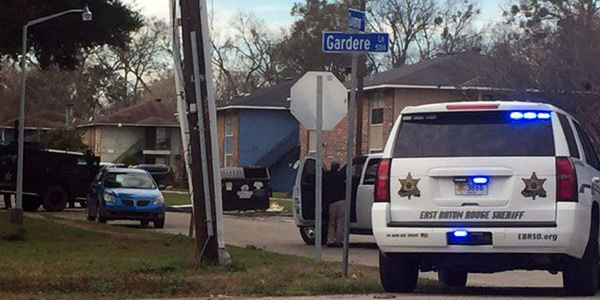 SWAT team on scene at Governor and Gardere for possible suspect search