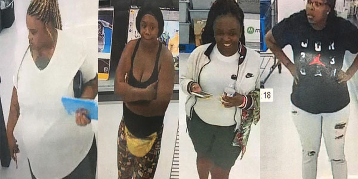 Women wanted after $5,000 worth of electronics stolen from Denham Springs store