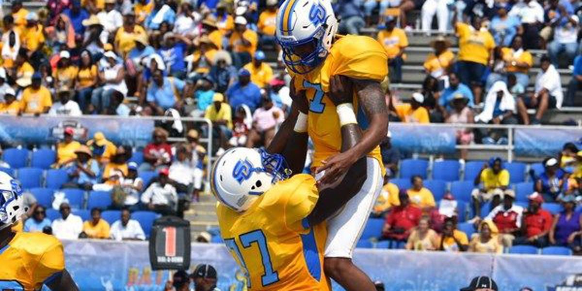 Howard's 5 TD passes lead Southern over UAPB 47-40