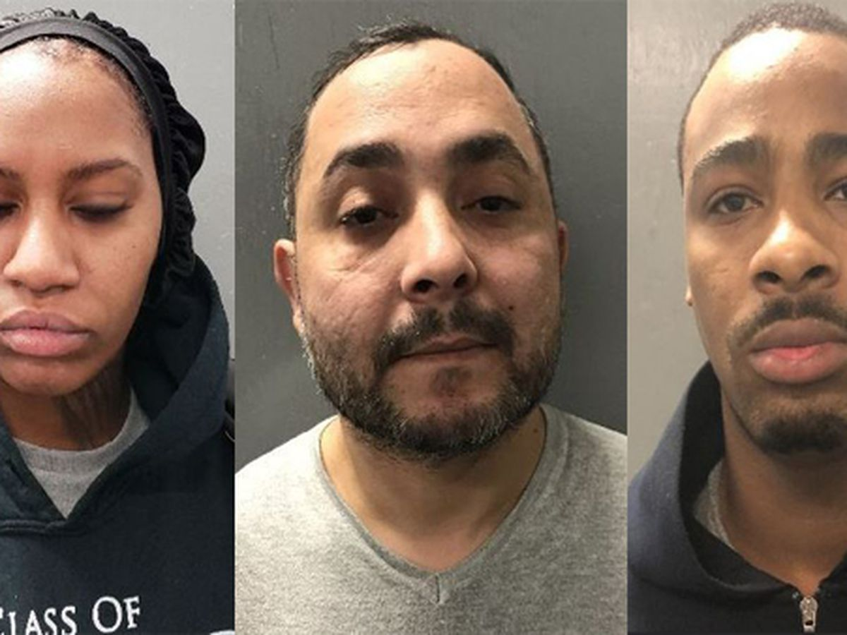 Three arrested for ATM cash thefts in Ascension Parish