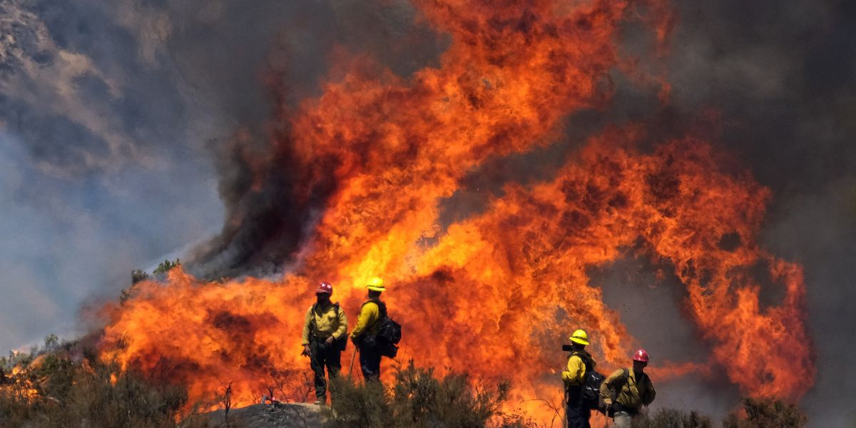 Vehicle malfunction sparked Southern California wildfire