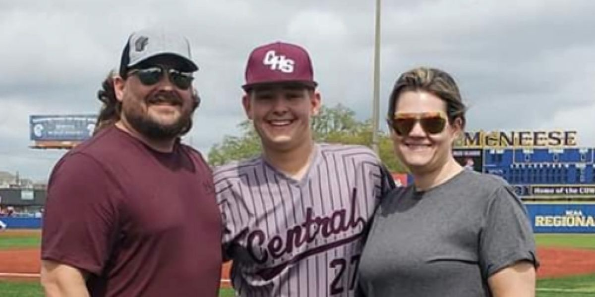 Central baseball player finishes shortened season on a high note