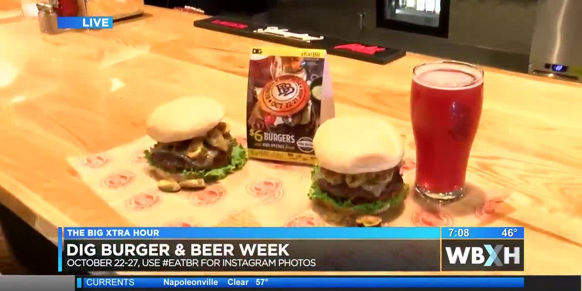 DIG Baton Rouge kicks off 3rd annual Burger & Beer Week - 7 a.m.