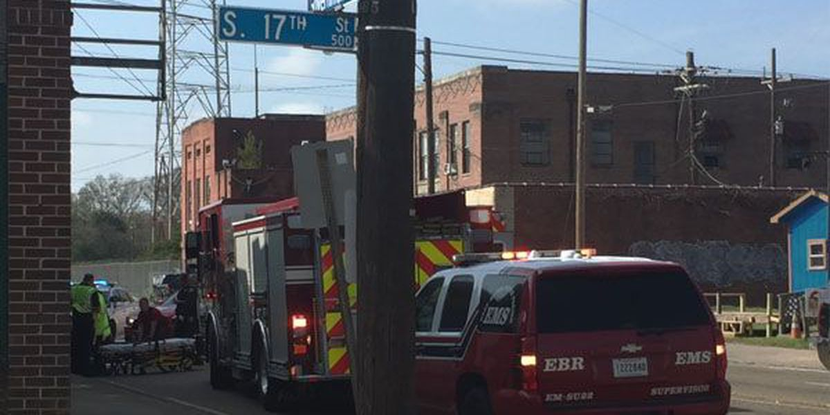 Pedestrian suffers minor injuries after causing crash with car on Government St.