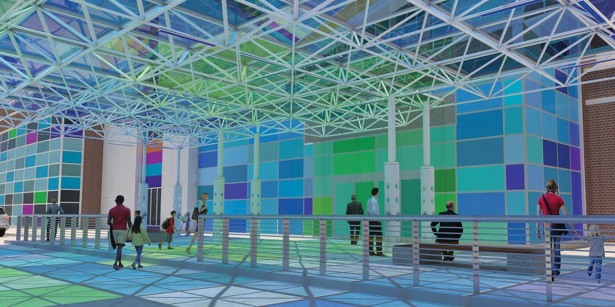 Interactive art installation to add color and playful touch at Our Lady of the Lake Children's Hospital
