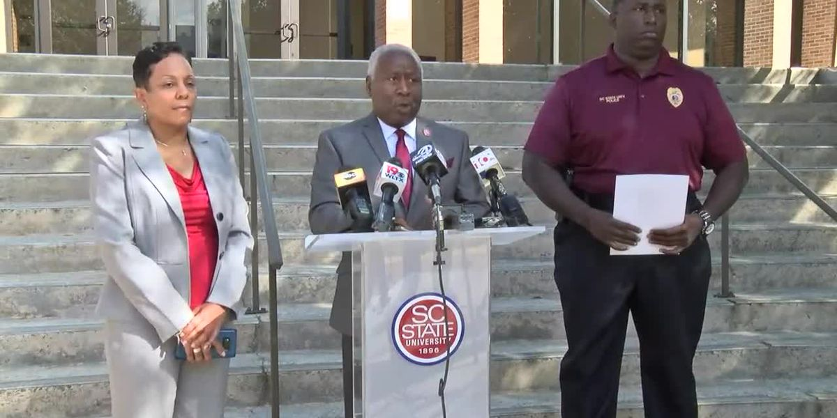 RAW VIDEO: SC State University president holds news conference on early-morning shooting on campus