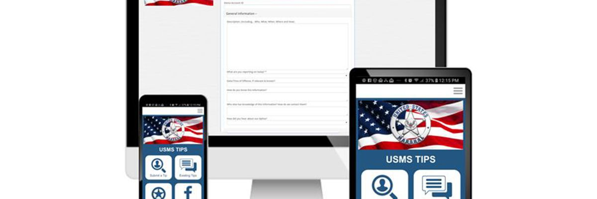 U.S. Marshals Service launches app to report crime tips