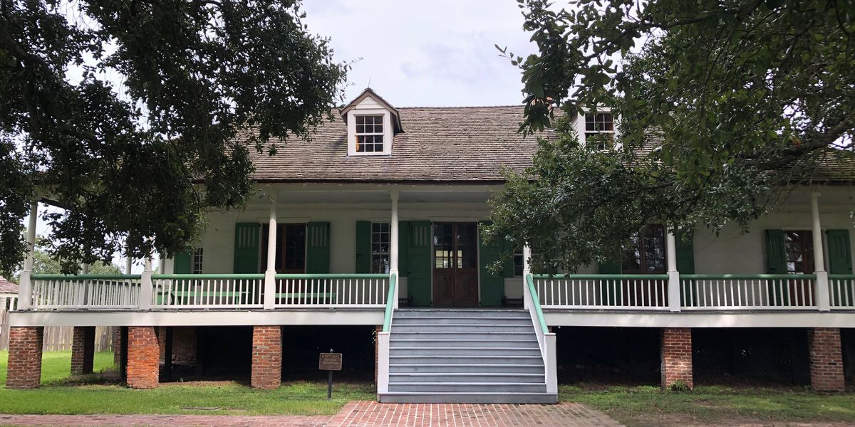 SHOWCASING LOUISIANA: Exploring one of the oldest homes in Baton Rouge, Magnolia Mound Plantation