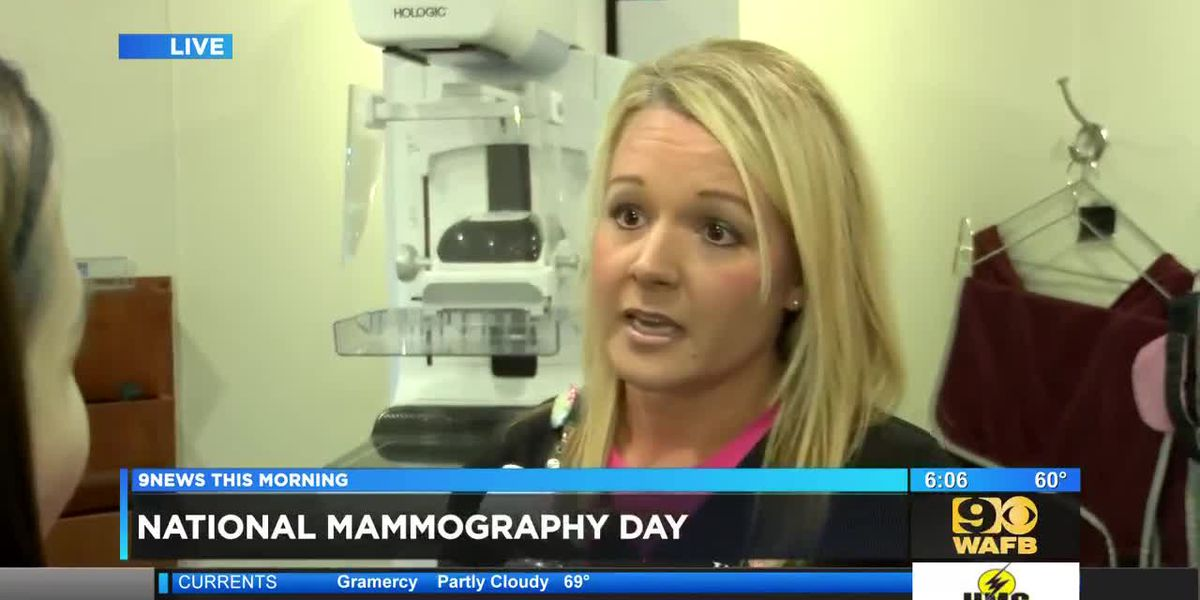 Woman's Hospital encourages women to get mammograms on National Mammography Day - 6 a.m.