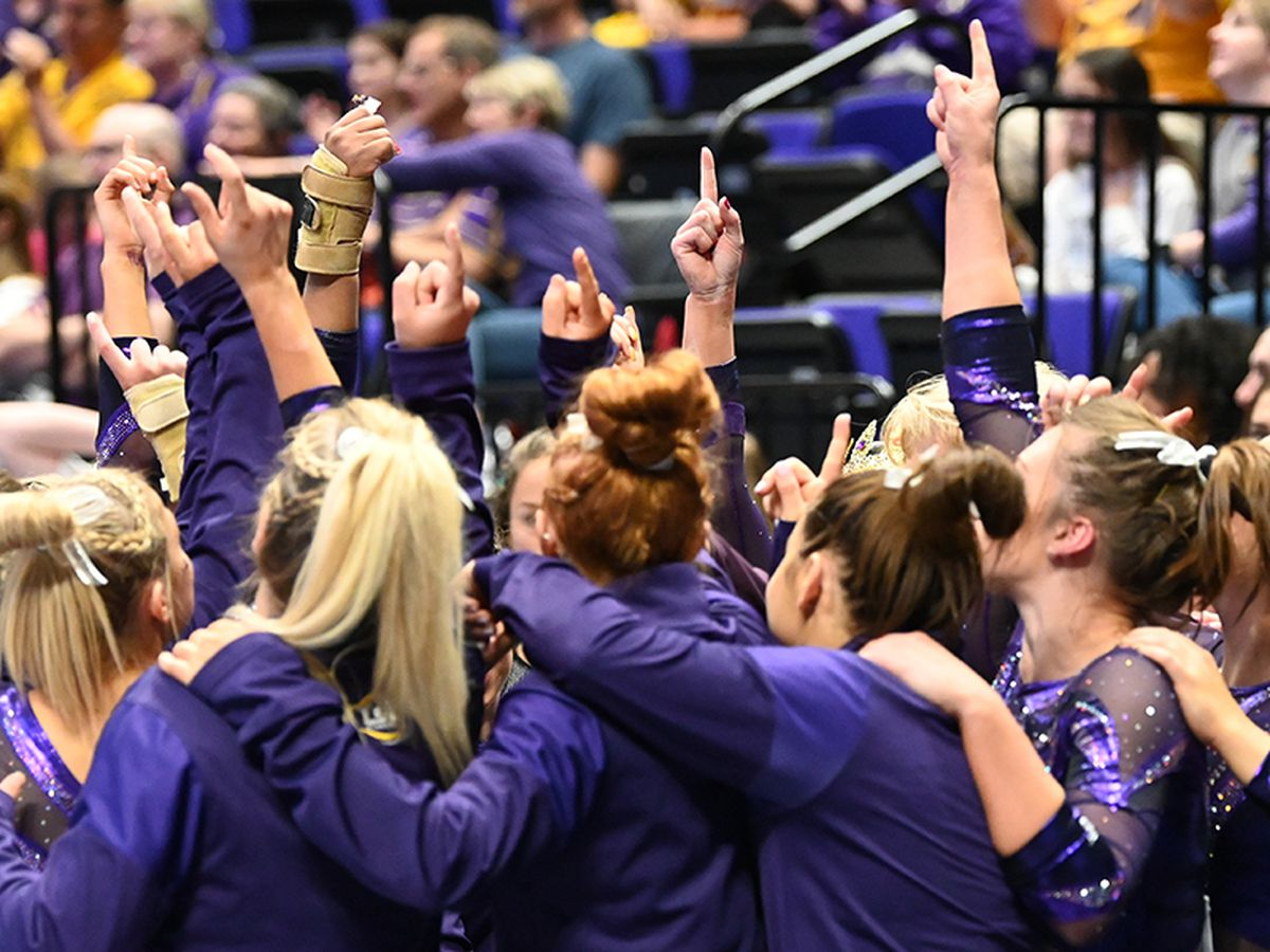 LSU gymnastics makes final preps for NCAA semifinal