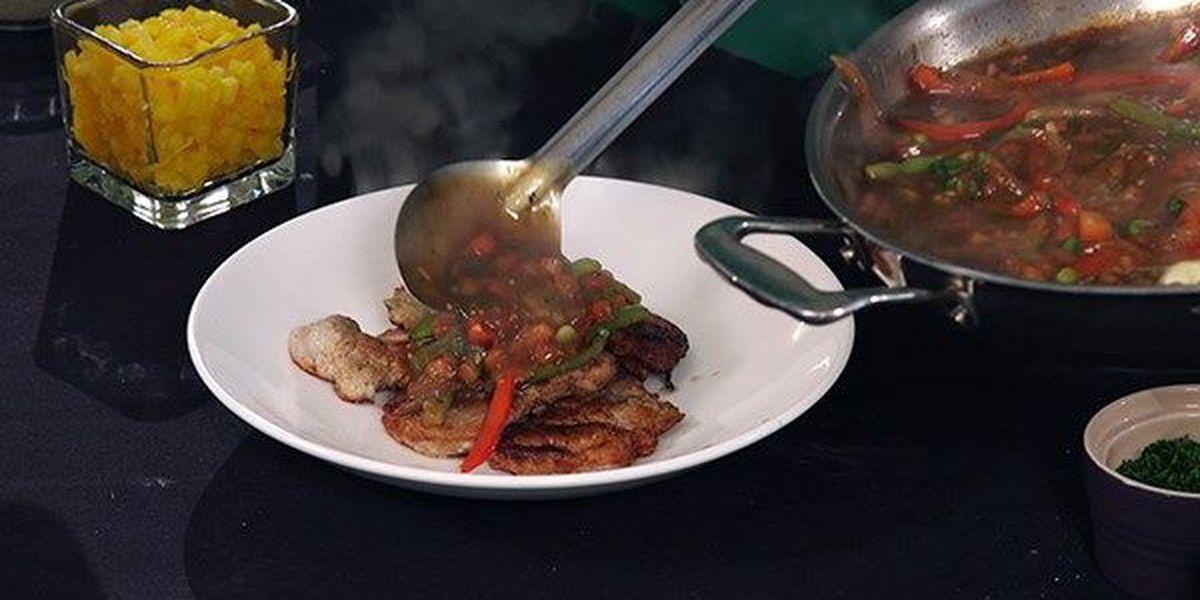Grilled Creole Wild Boar Tenderloin