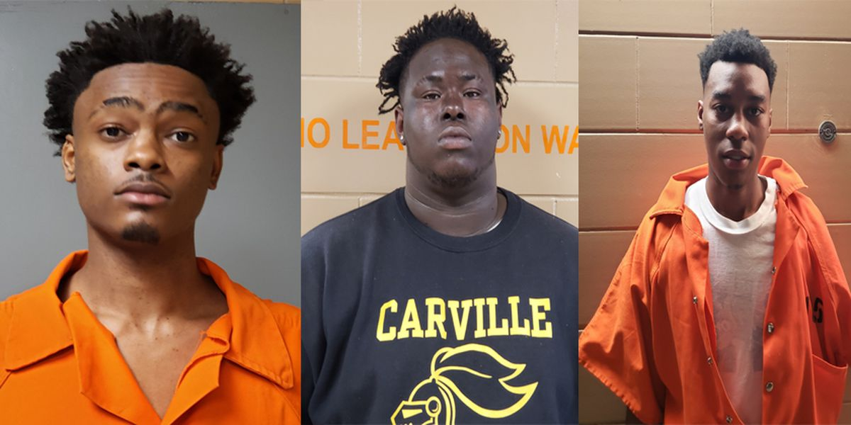 Three gang members arrested in Bayou Goula arson investigation