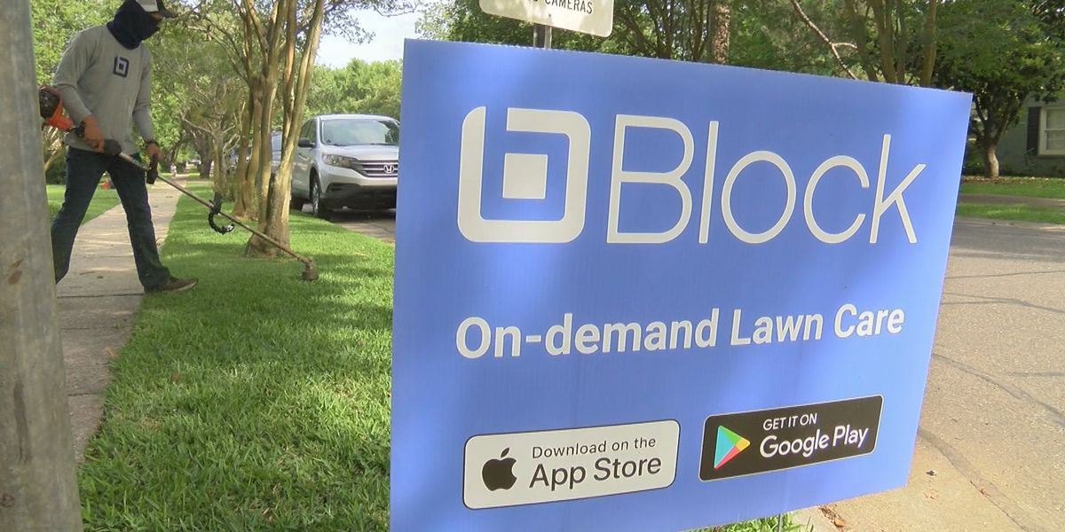 Block Lawncare provides on-demand mowing services via app created in BR