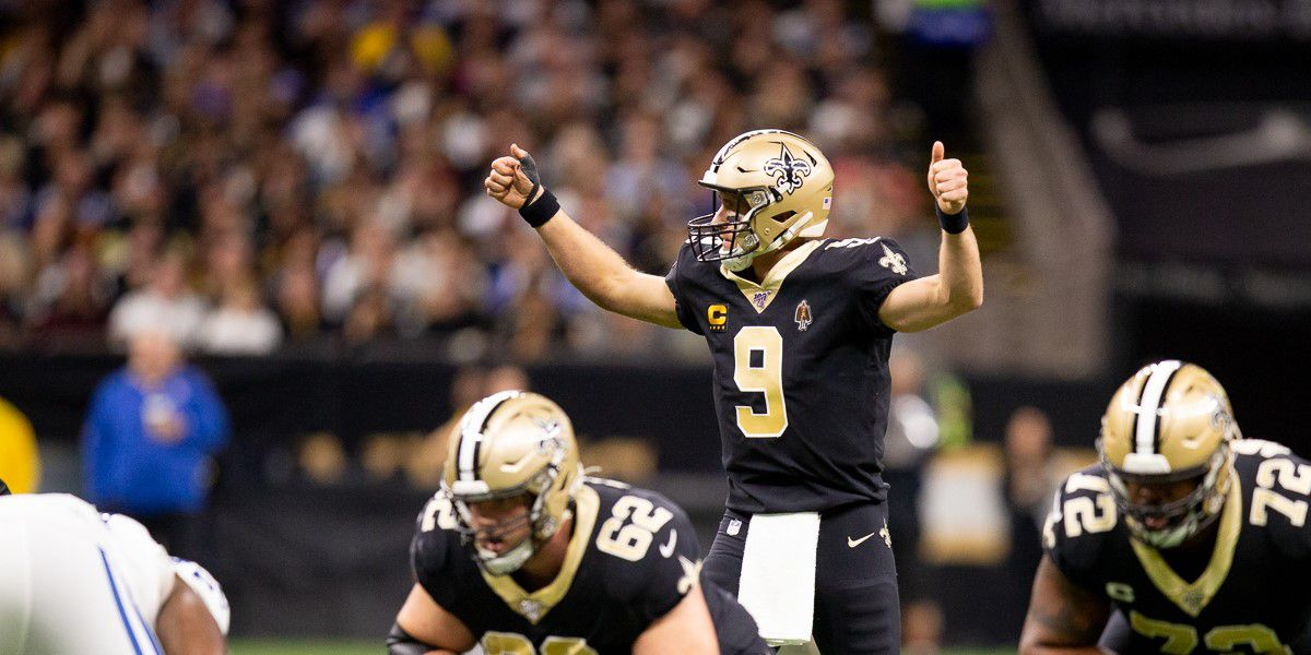 Drew Brees sets new all-time NFL touchdown passing record as Saints crush Colts