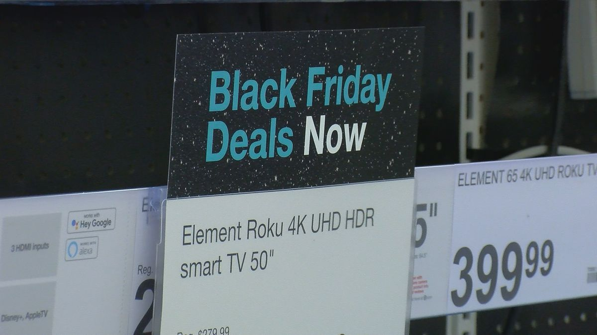 Black Friday will be less crowded than previous years due to Gov. Edwards' COVID-19 restrictions on shopping malls