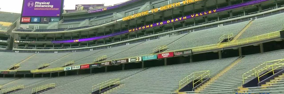 Tickets are harder for LSU fans to get this year due to limited attendance at Tiger Stadium