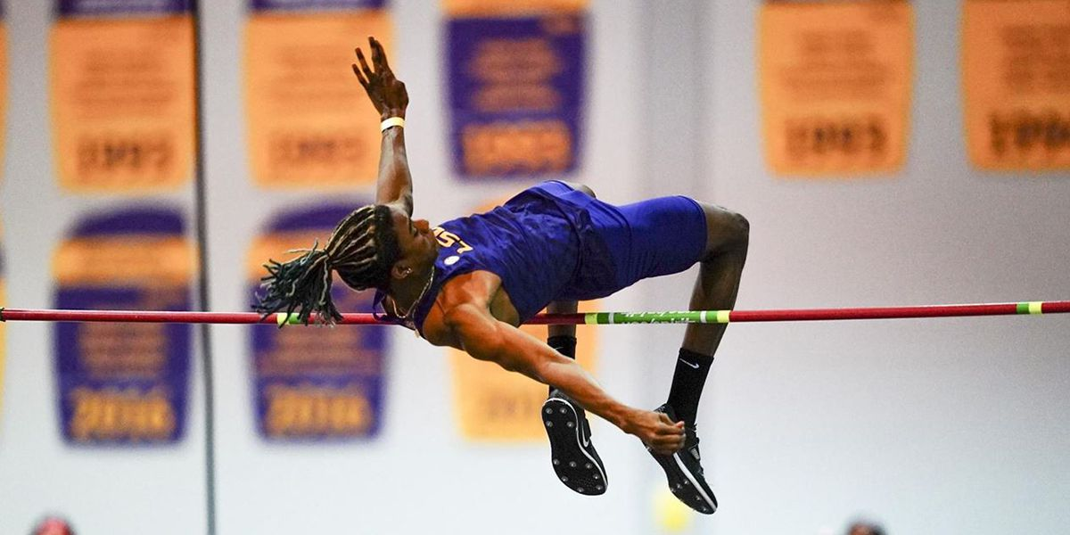 11 Tigers win event titles with 6 NCAA top 10 marks in Louisiana Invitational