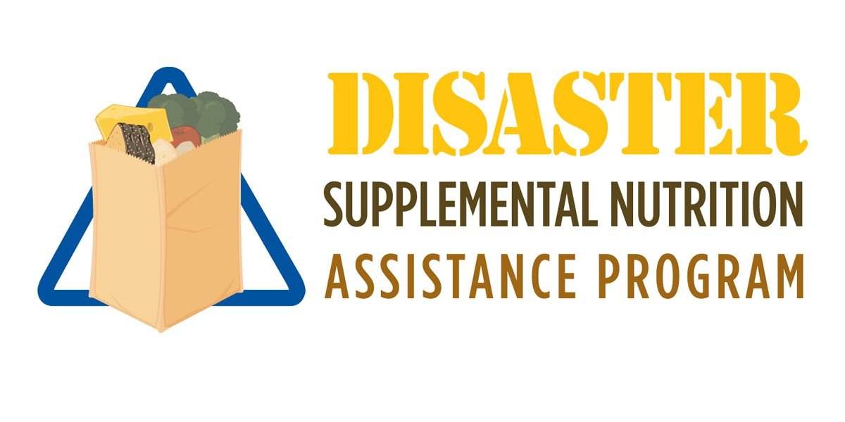 DSNAP application period ending Wednesday