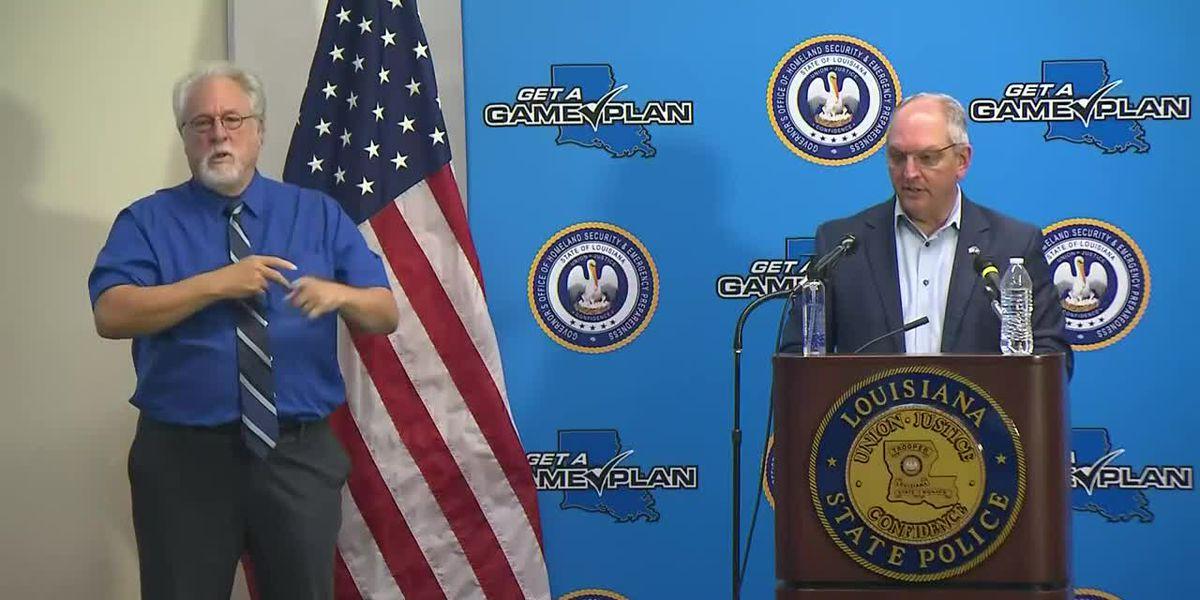 FULL: Gov. Edwards releases Phase 3 guidelines, discusses tropical disturbances, Laura recovery