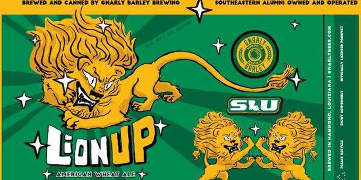 Gnarly Barley releases official SLU beer, 'Lion Up'