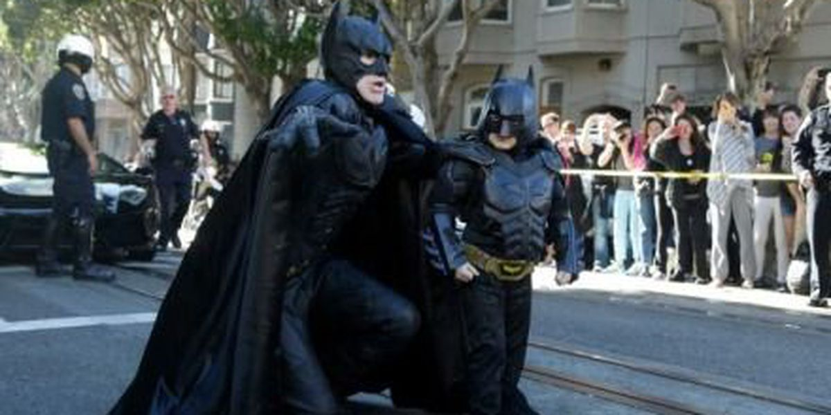 'Batkid' is cancer free 5 years after 'saving San Francisco'