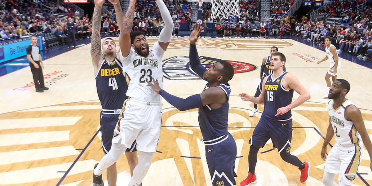 Pelicans improve to 7-1 at home after beating the Nuggets, 125-115