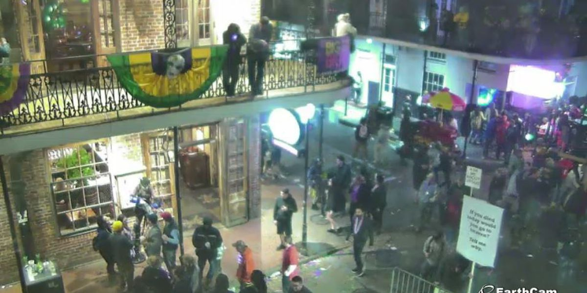Mardi Gras 2018 from New Orleans