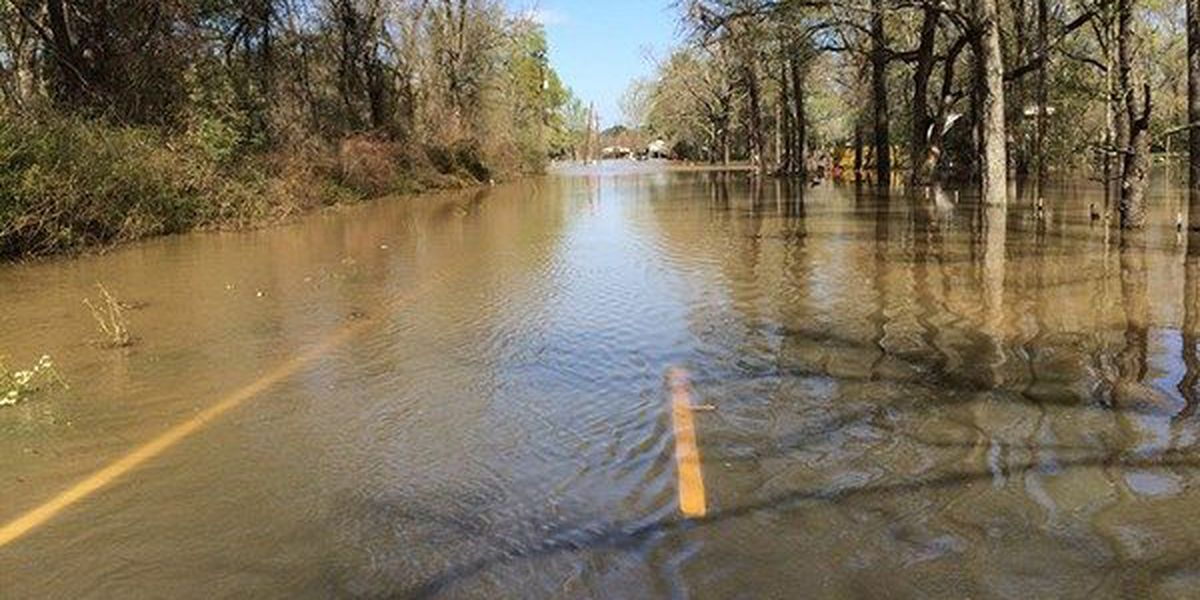 Ascension Parish officials assess damage caused by flooding