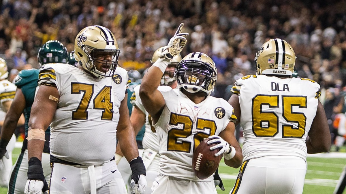 Mark Ingram: 'I will bleed black and gold forever! Thank you, New Orleans for everything!'