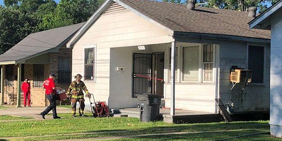 Vacant house on Wenonah Street catches fire; investigators say it was arson
