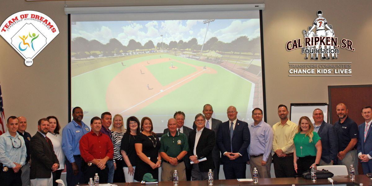 Community banding together to make baseball field accessible for children with special needs