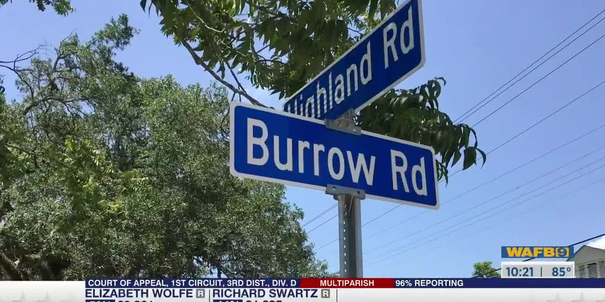 Burrow Road in Baton Rouge